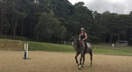 Jumping exercises with Gemma Tattersall